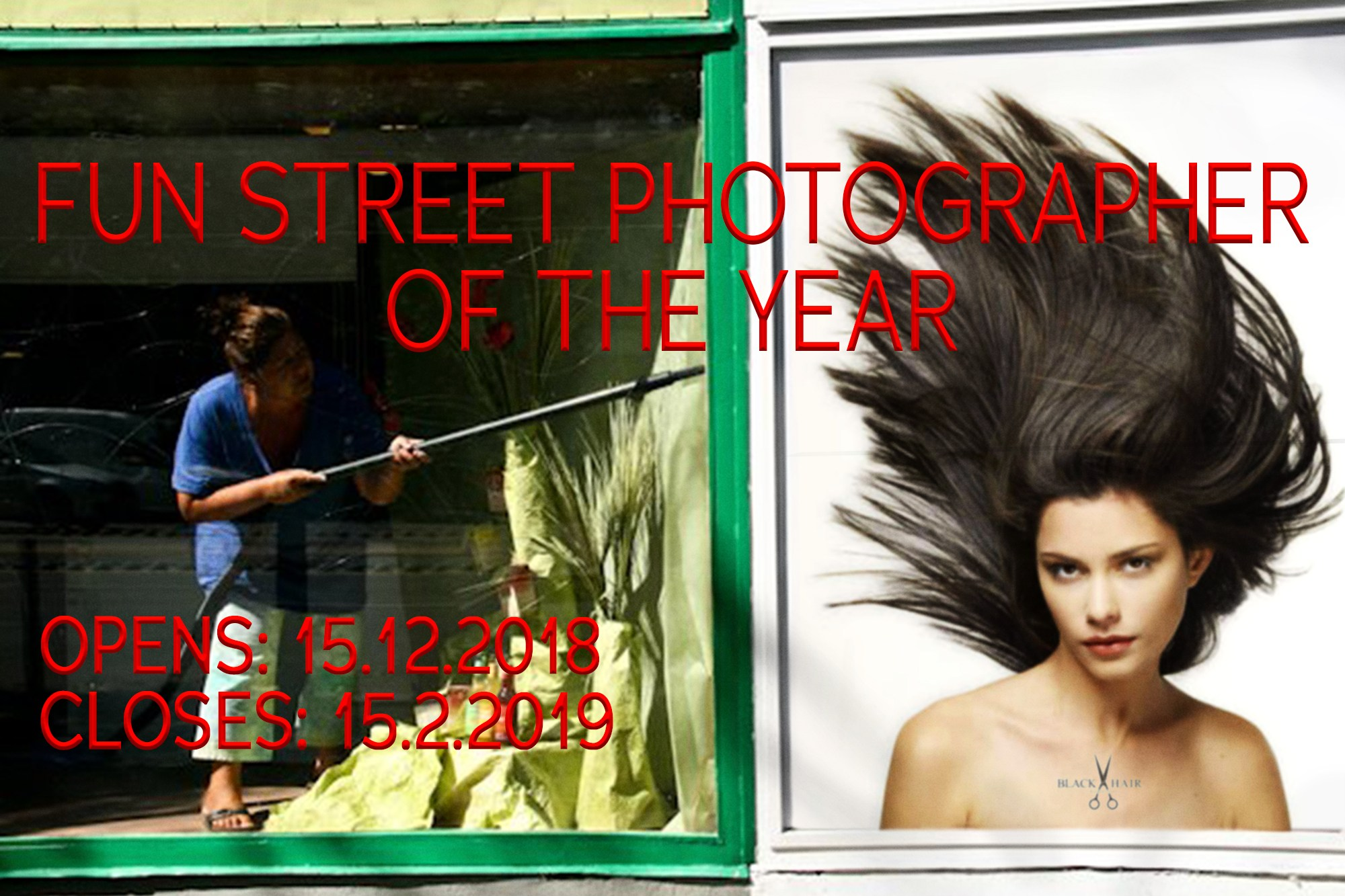 Fun Street Photographer of the Year - logo