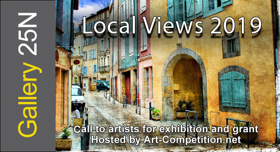 ART CALL TO ARTISTS AND PHOTOGRAPHERS – LOCAL VIEWS 2019 - logo