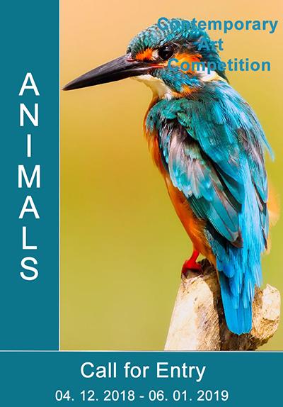 "International Art Competition ""Animals"" - logo"