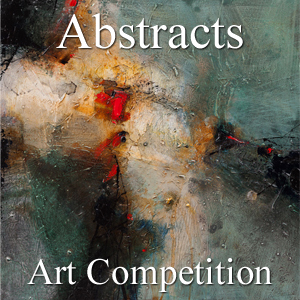 """10th Annual """"Abstracts"""" Online Art Competition - logo"""