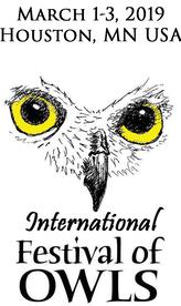 International Festival of Owls Photography Contest 2019 - logo