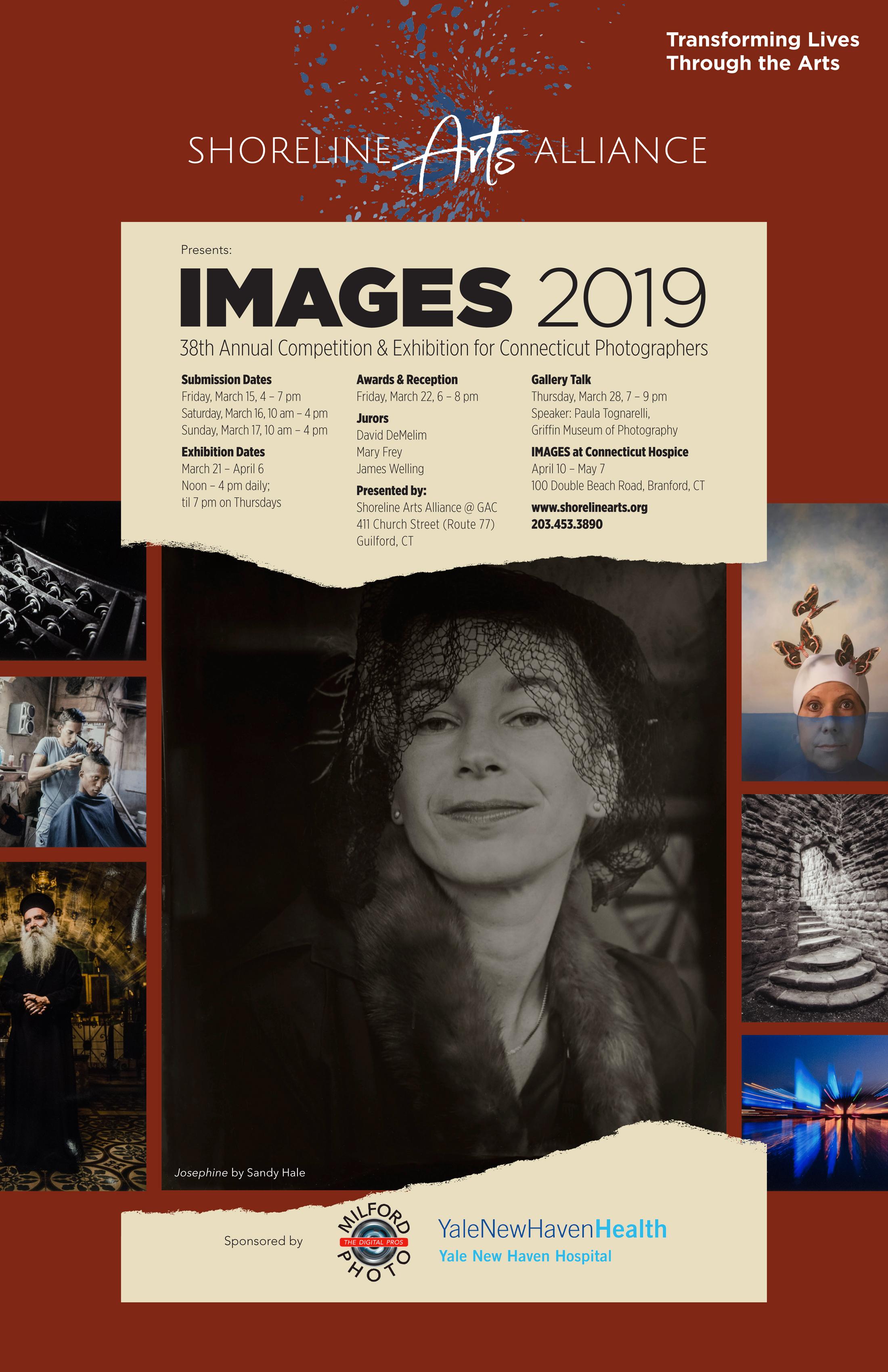 Shoreline Arts Alliance's IMAGES 2019 - logo