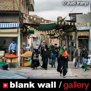 Street Photography by Blank Wall Gallery 2019 - logo