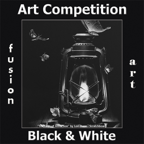 3rd Annual Black & White Art Competition - logo