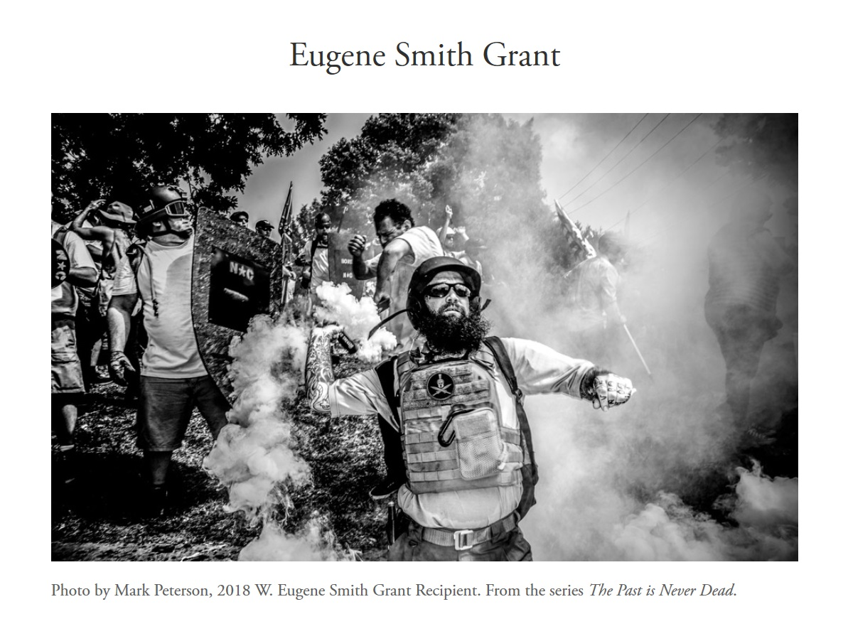 W. Eugene Smith Grant 2019 - logo