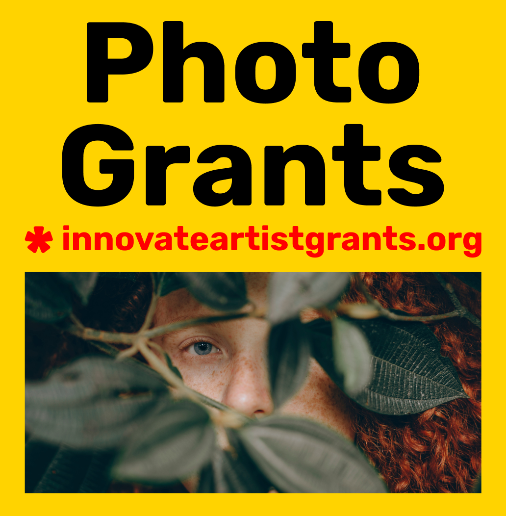 Grants for Photographers and Artists – Call for Entry –Innovate Grant - logo