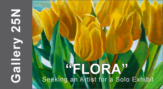 "ART CALL TO ARTISTS AND PHOTOGRAPHERS – For ""FLORA"" a Solo Exhibition 2019 - logo"