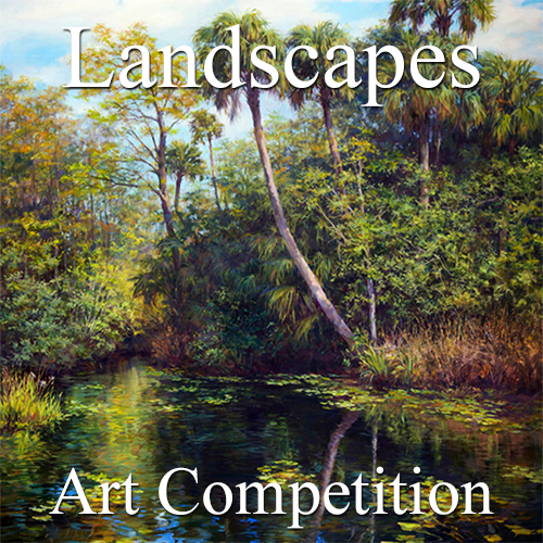 """9th Annual """"Landscapes"""" Online Art Competition - logo"""