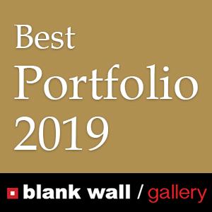 Best Portfolio 2019 by Blank Wall Gallery - logo