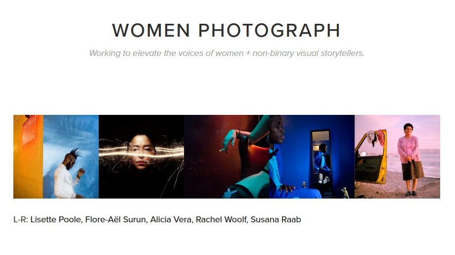 Women Photograph + Nikon Grants 2019 - logo