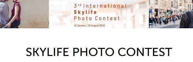 Skylife Photo Contest 2019 - logo