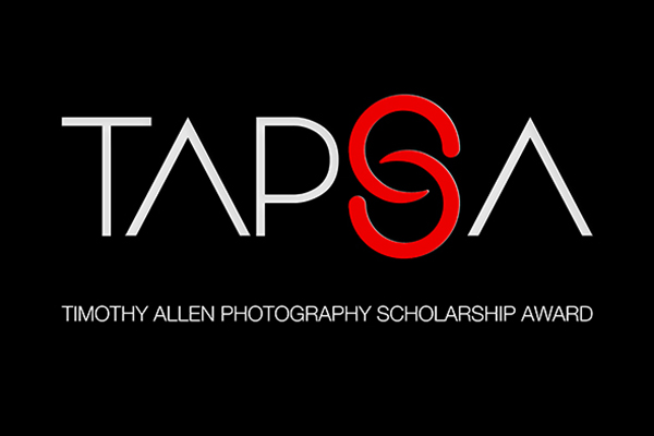 Timothy Allen Photography Scholarship Award (TAPSA) - logo
