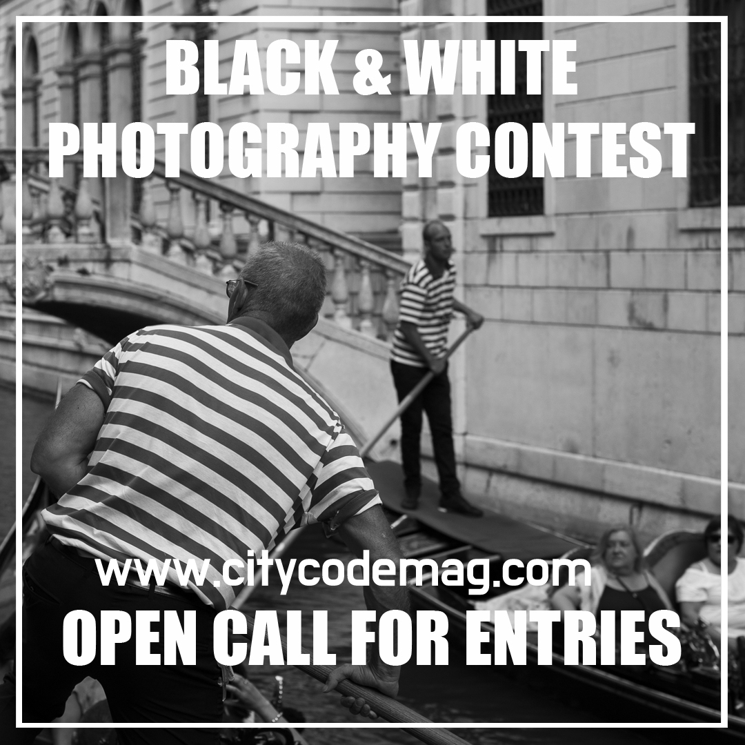 Black white photography contest city code magazine