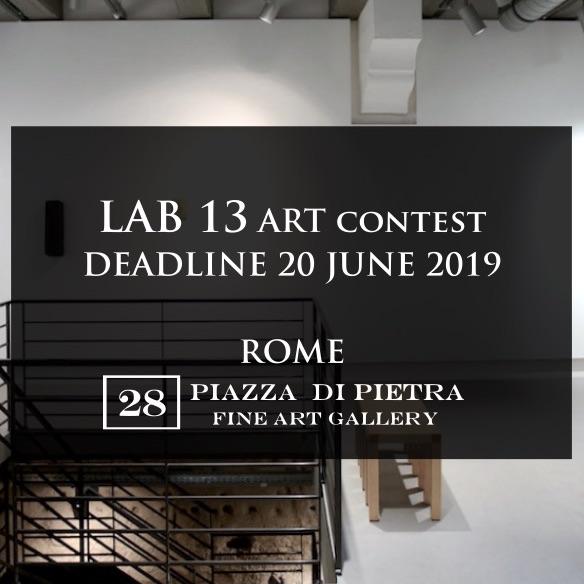 Lab.13 art contest - logo