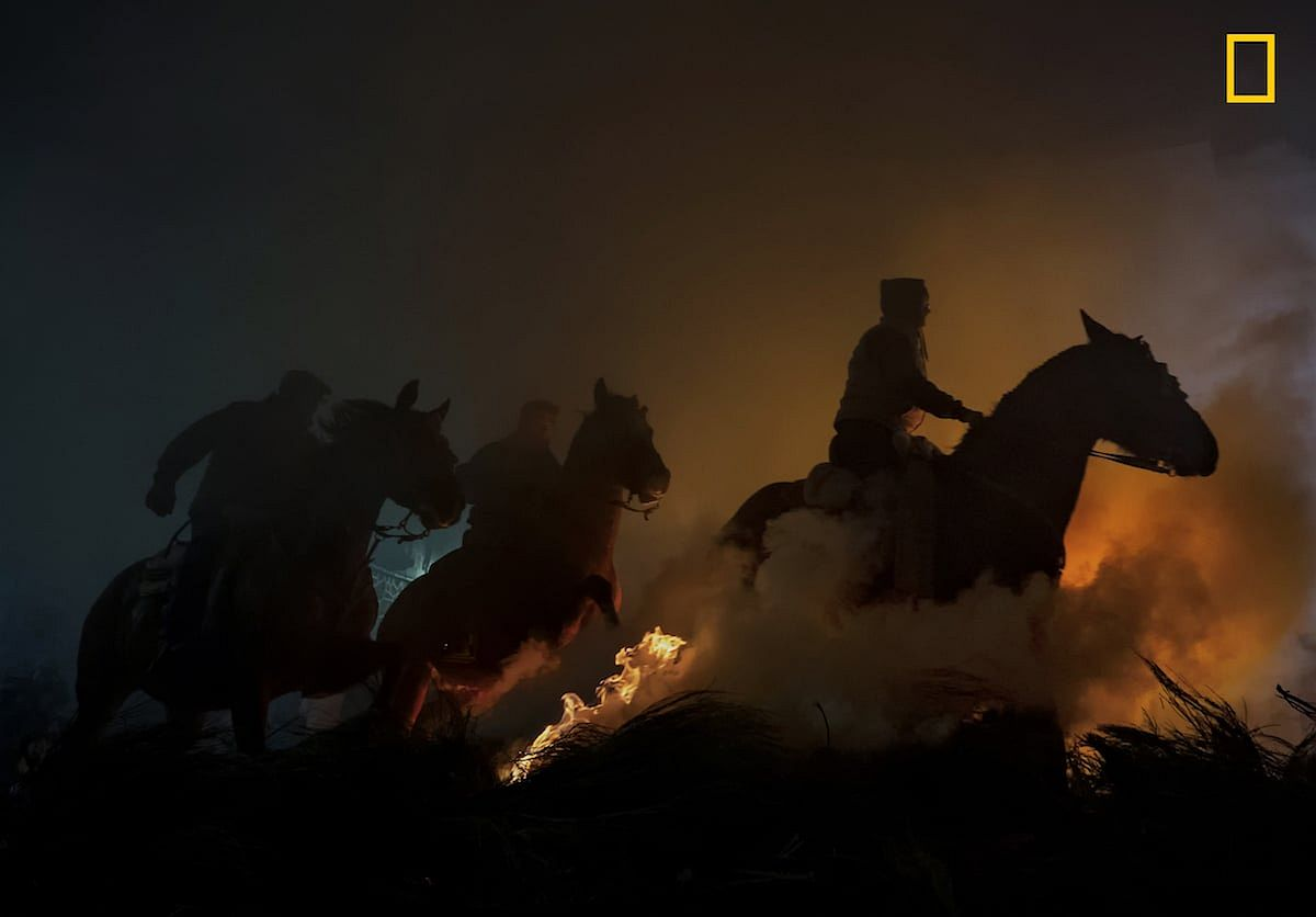 "3rd Place – People. PHOTOGRAPH BY JOSÉ ANTONIO ZAMORA/ 2019 NATIONAL GEOGRAPHIC TRAVEL PHOTO CONTEST ""HORSES"""