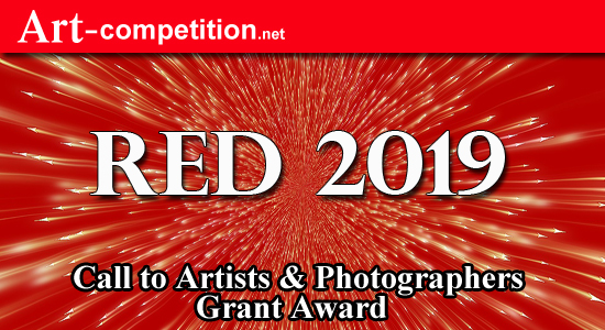 ART CALL TO ARTISTS AND PHOTOGRAPHERS – RED 2019 - logo