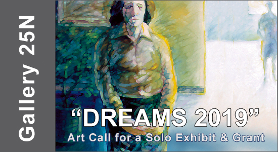 ART CALL TO ARTISTS AND PHOTOGRAPHERS – For a Solo Exhibition, DREAMS 2019 - logo