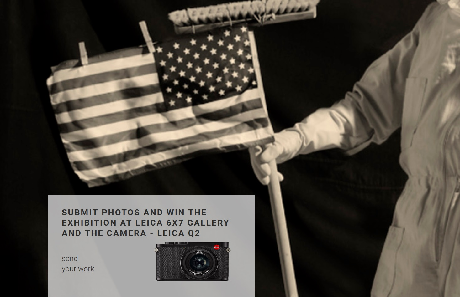 Has the Eagle landed? Photography Contest by Leica 6×7 Gallery Warsaw - logo