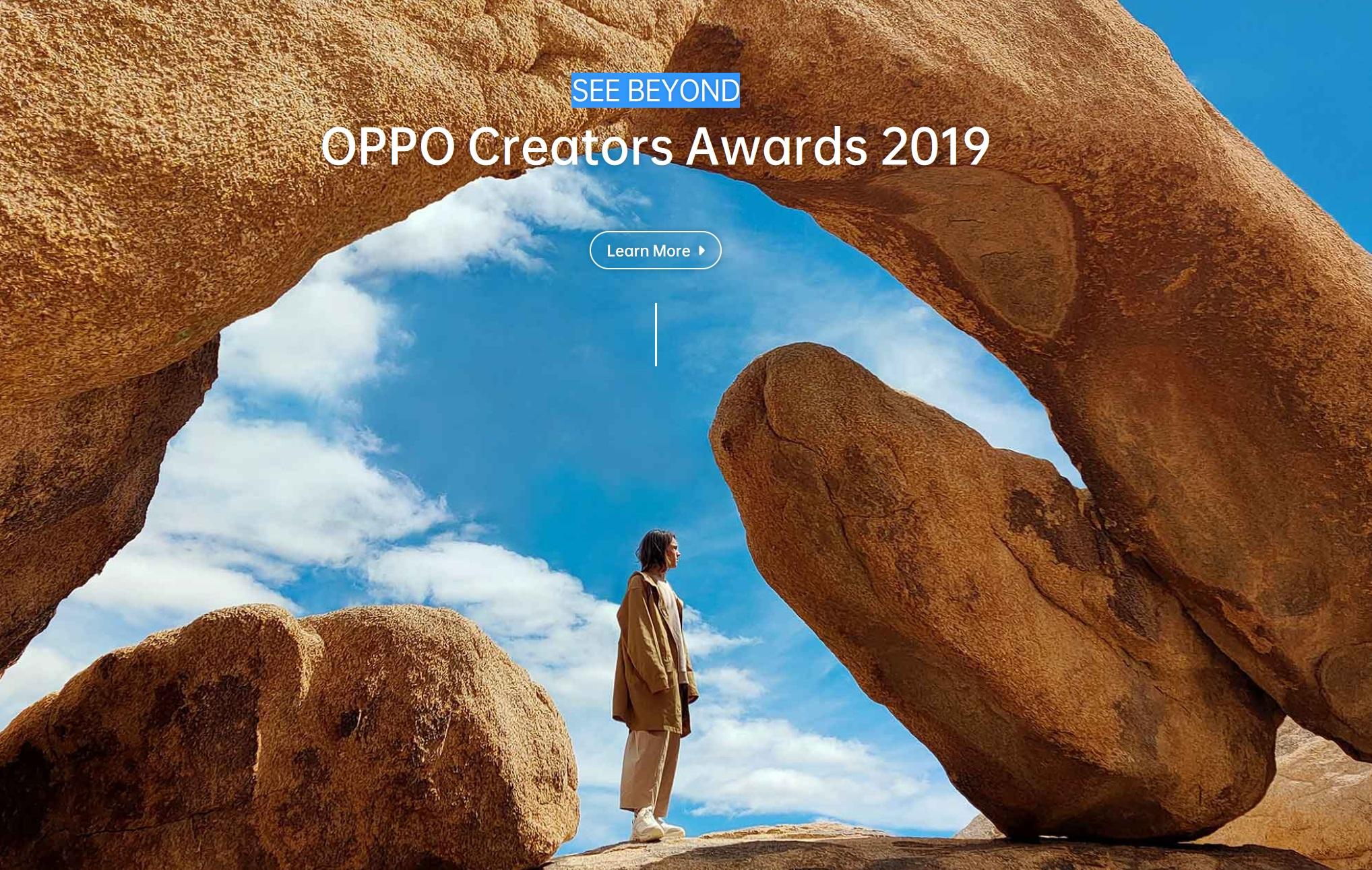 OPPO Creators Awards 2019 SEE BEYOND - logo