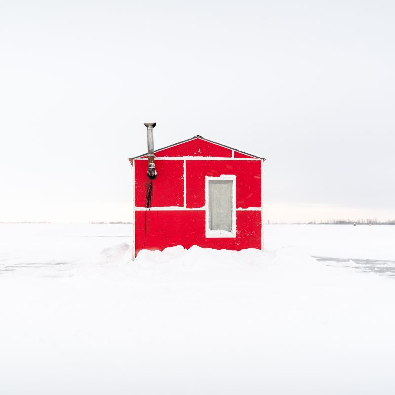 Ice Fishing Huts Sandra Herber Best New Talent
