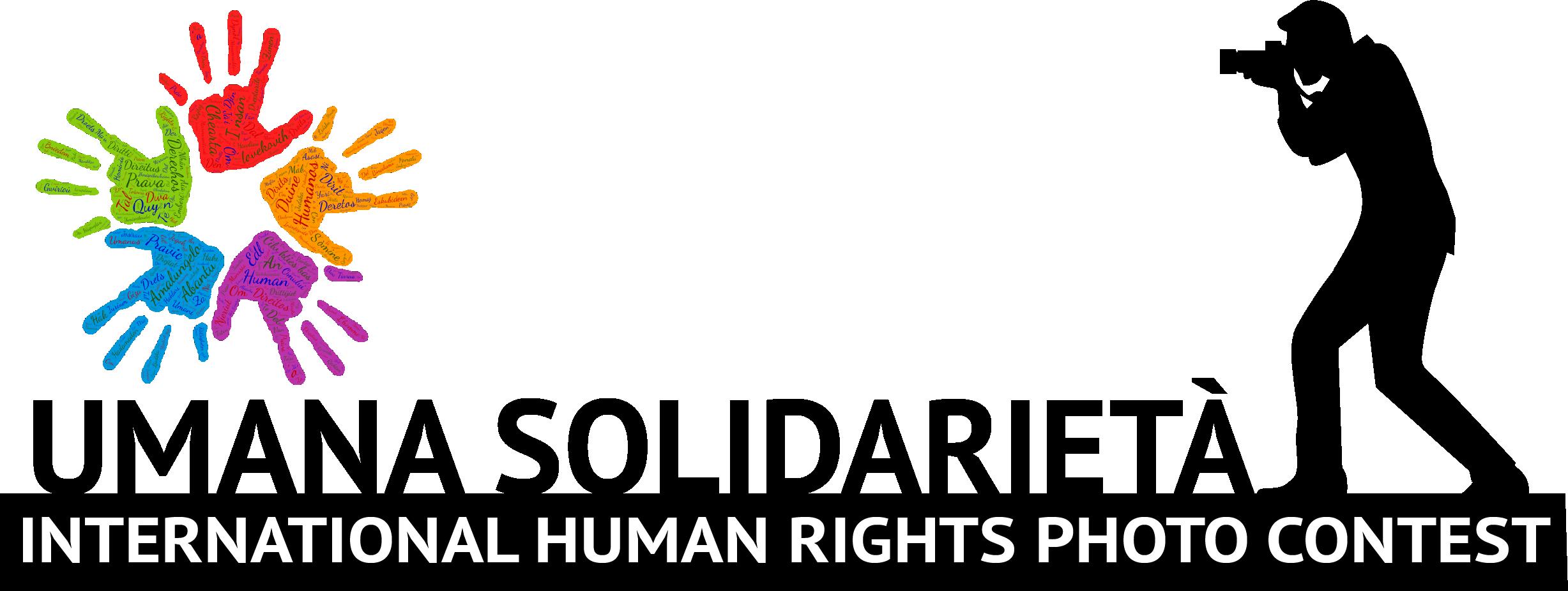 Umana Solidarietà International Human Rights Photo Contest - logo