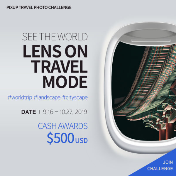 PIXUP Photo Challenge: Lens on Travel Mode