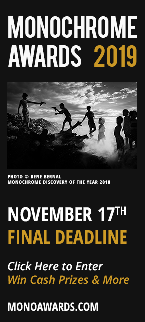 Monochrome Awards Black and White Photo Contest 2019