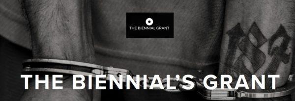 5th Biennials' Grant 2020