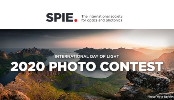 SPIE Annual International Day of Light Photo Contest
