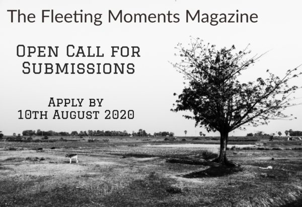 The Fleeting Moments Magazine Open Call 2020