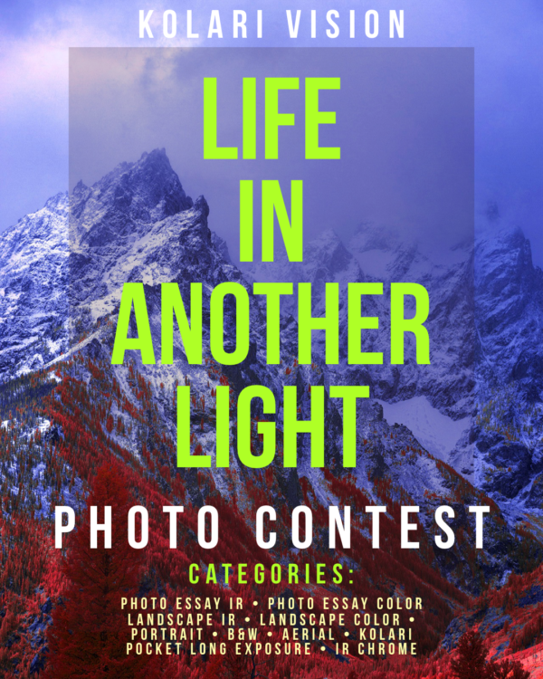 Life in Another Light Infrared Photography Contest 2020