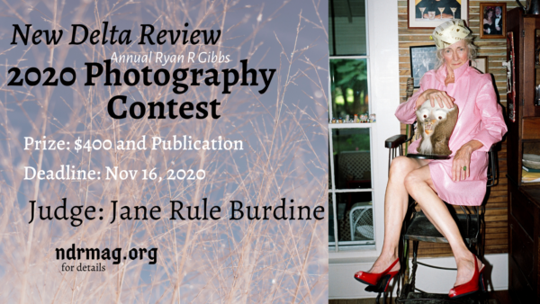 New Delta Review's Annual Ryan R. Gibbs Photography Contest