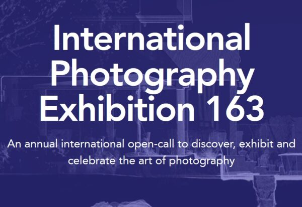 Call for Entries: International Photography Exhibition 163