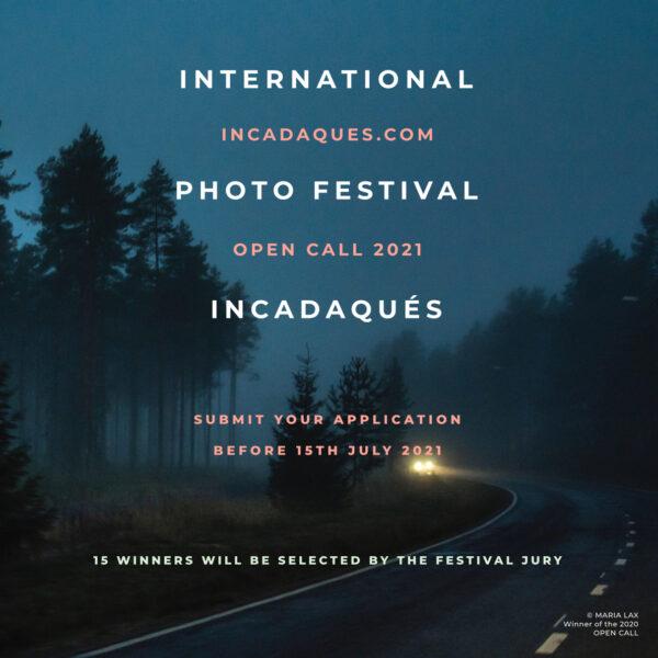 INCADAQUÉS PHOTO FESTIVAL OPEN CALL 2021