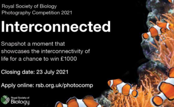 Royal Society of Biology 'Interconnected' 2021