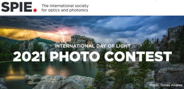 SPIE International Day of Light Photo Contest 2021