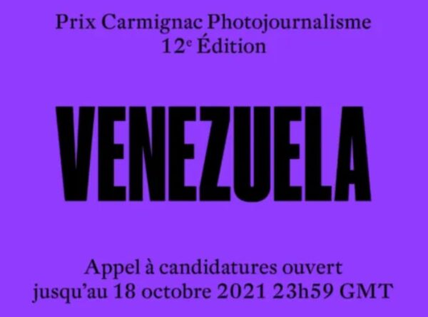 Carmignac Photojournalism Award 2021 Venezuela