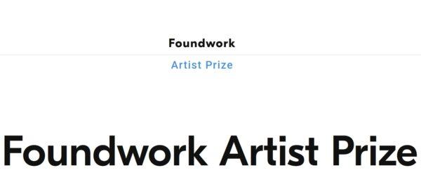 Foundwork Artist Prize 2021